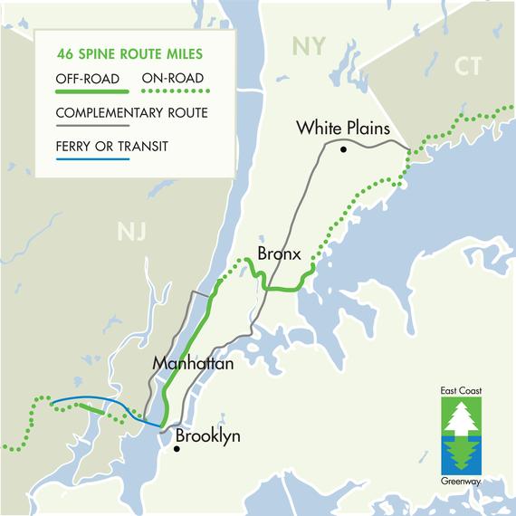 Map Of New York Waterways.New York