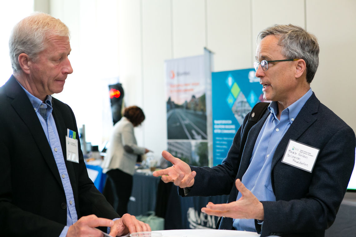 Leaders talk strategy at the Expo.