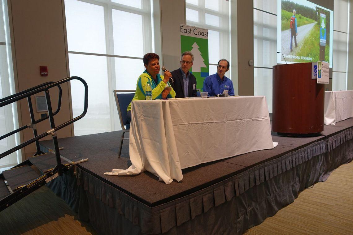 Closing panel wraps up an exciting Summit: Vivian Ortiz, Herb Nolan and Dennis Markatos-Soriano