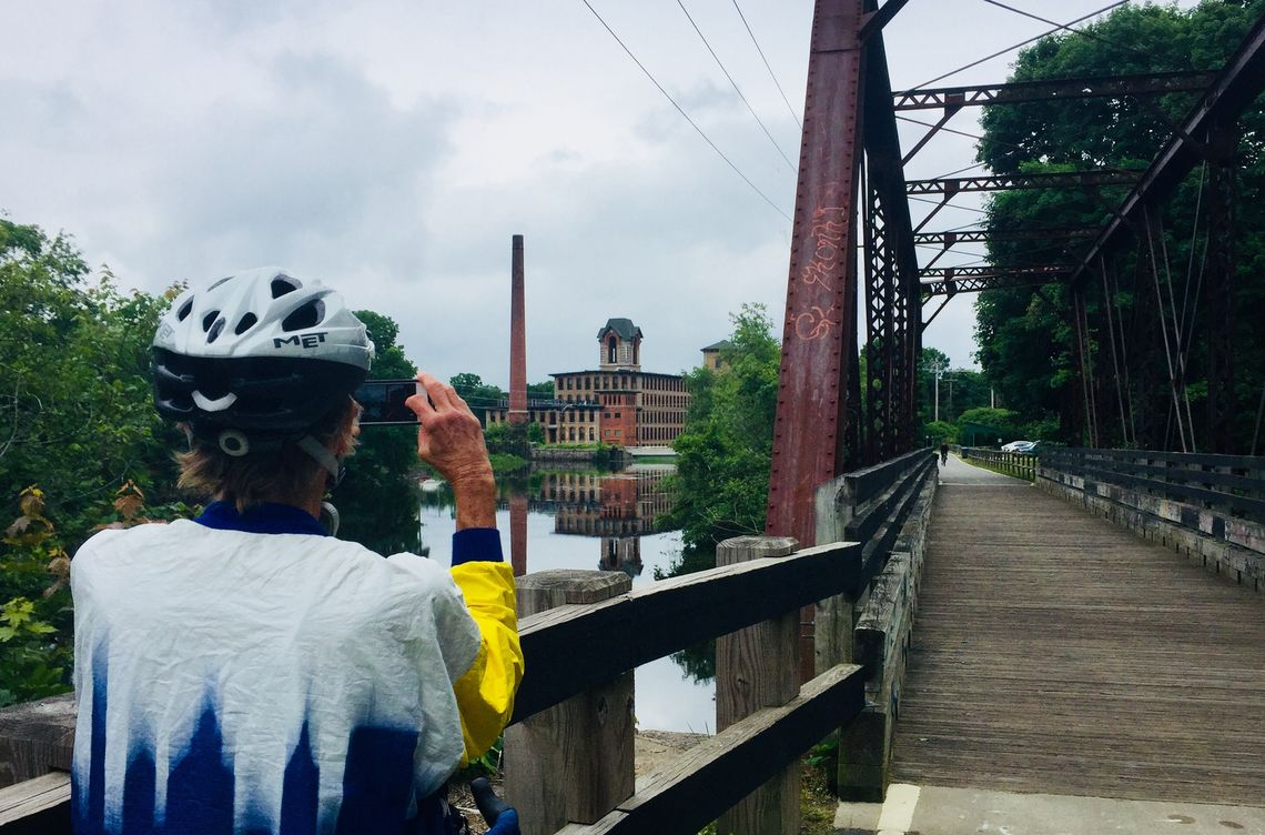 Rhode Island: Washington Secondary Bike Path, Cranston-Coventry, 19 miles. Cross half the width of the Ocean State on this rail-trail with an urban feel at its eastern end to rural on the western end, with views of ponds and brick mills in town centers in between.