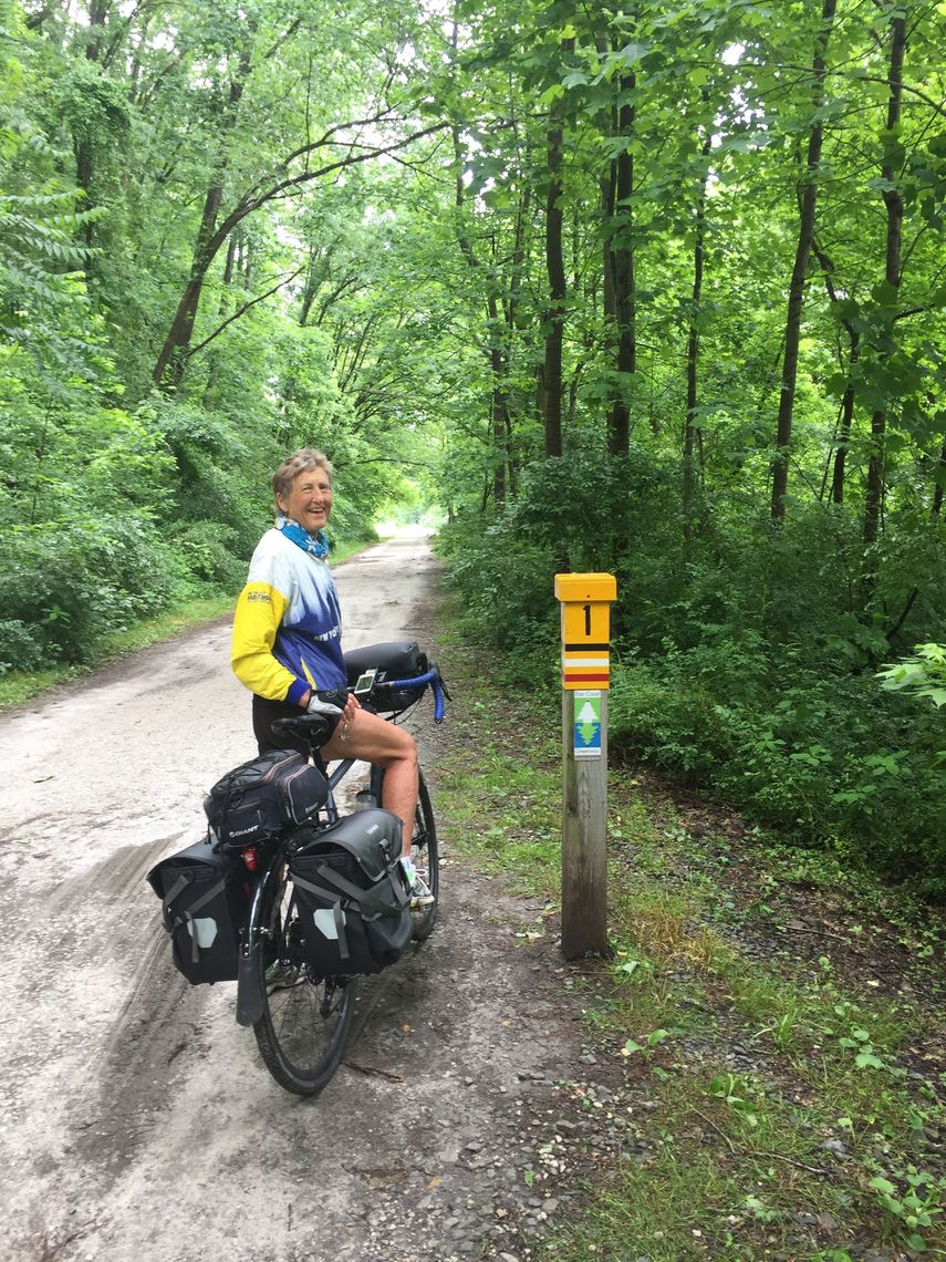 Maryland: Torrey C. Brown Trail, Cockeysville, 7 miles. This charming dirt trail with a European feel follows the Big Gunpowder River with tall trees for shade and picturesque farms across the river. The trail continues north at Monkton while the East Coast Greenway heads east.